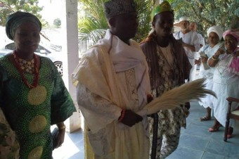 A visita de sua Majestade Oba Al-Maroof Adekunle Magbagbeola, Olumoyero II, Rei de Ifon– Osun no Rio de Janeiro
