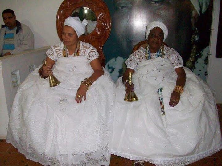 Iya Debora e Vó Florzinha( Arquivo)