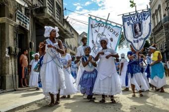 Fotos do Cortejo do Centro Cultural José Bonifácio até o Cais do Valongo em Comemoração ao Dia de Zumbi