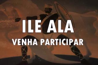 Teaser do convite do desfile do Bloco Afoxé Ilê Alá