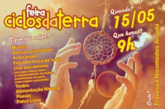 A Feira Ciclos da Terra em Cachoeiras de Macacu (RJ)