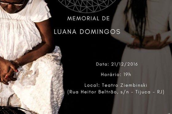 Convite do Espetáculo Lembranças Memoráveis: Identidade, Raiz e Ancestralidade