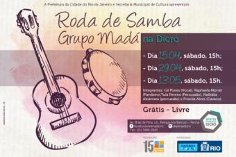 Roda de Samba do Grupo Madá na Dricó