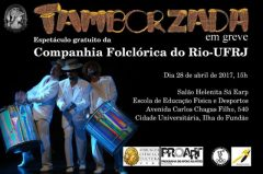 Tamborzada – Espetáculo gratuito da Companhia Folclórica do Rio (UFRJ)