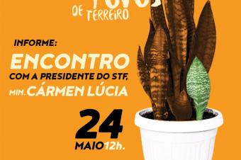 Religiosos de candomblé são recebidos pela presidente do STF em Brasília